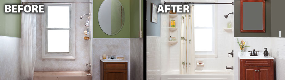 Big Remodeling Ideas for Small Bathrooms