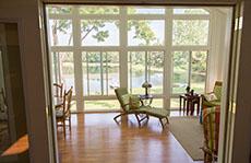 Sunroom for seasonal affective disorder